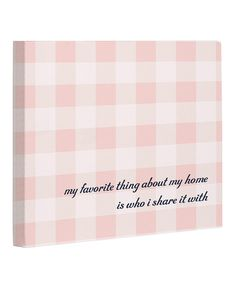 Love this 'Favorite Thing' Canvas by OneBellaCasa on #zulily! #zulilyfinds