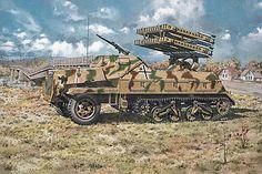 Kit - Sd.Kfz. 4/1 Panzerwerfer 42 late - Roden 714