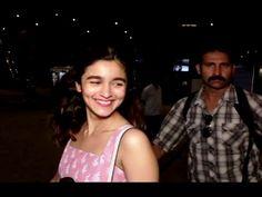 Alia Bhatt SPOTTED at Mumbai airport.