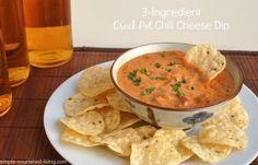 Crock Pot Chili Cheese Dip | Weight Watchers Friendly Recipes #WeightWatchers #CrockPot #SuperBowl