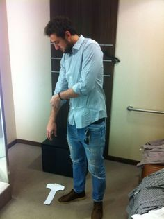 Marco Belinelli with another great outfit!