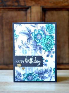 happy birthday by Aimes - Cards and Paper Crafts at Splitcoaststampers