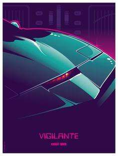 "Here's number 3 in my 70s Sci-fi TV/Movie robotic or mechanical badass series. After ""Centurion"" I asked for suggestions from friends for additional subjects, and one had asked for KITT from Knight Rider. I wasn't sure how to make it work within this layout format, but after some thought this is what I arrived at."