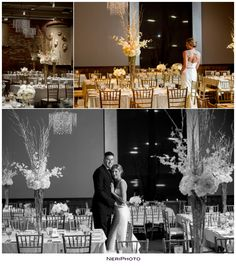 Cityscapes Events Wedding in Kalamazoo Michigan by NeriPhoto www.NeriPhoto.com Winter wedding.
