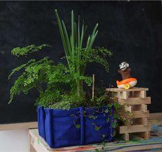 indoor kitchen garden 4 Blue Cordura