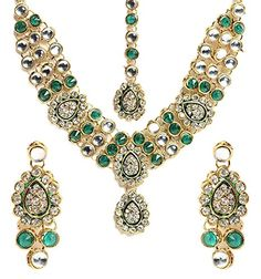 VVS Jewellers Gold Plated Green Stone Ethnic Indian Bolly... https://www.amazon.com/dp/B072Q5VCS8/ref=cm_sw_r_pi_dp_x_7jZvzb553493S