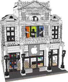 iStore Computer Shop PDF Instructions - Brickbuilderspro Store