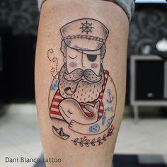 Marinheiro - Tattoo de Dani Bianco