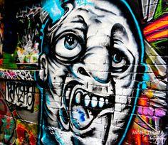 Hosier Lane Graffiti - Melbourne Australia