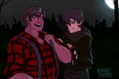 Voltron - Hunk x Keith - Heith Voltron Fanart, Voltron Ships, Animal Jam, Just A Game, Allura, Paladin, Cute Love, Dreamworks, Lions