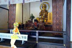 東日本大震災で被災した松で製作された大日如来坐像
