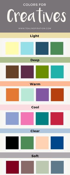 Colors for Creatives