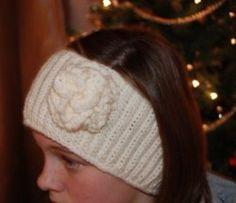 Crochet headband and ear warmer pattern.