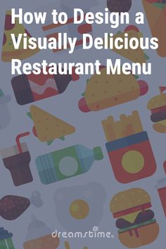 How to Design a Visually Delicious Restaurant Menu - Dreamstime Delicious Restaurant, Menu Restaurant, Graphic Design Tips, Time To Eat, Soul Food, Your Design, Beverage, Restaurants, Digital Art
