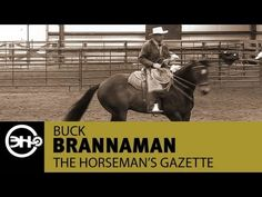 Cow Horse Turnarounds with Buck Brannaman (snippet from Horseman's Gazette) @nicolepoyo