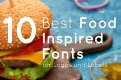 We have selected the 10 Best Food Inspired Fonts. #foodfonts #foodinspired #creatives #designers #font #fonts #fontlovers #foodfont #foodtypefaces #design Food Font, Types Of Food, Fonts, Designers, Inspired, Creative, Inspiration, Biblical Inspiration, Types Of Font Styles