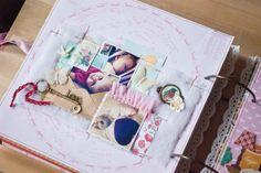album about little girl by simascrap at @Studio_Calico