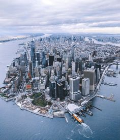 New York City by @erwnchow @copterpilot