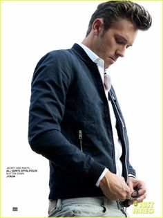 Sam Palladio: Nashville Was the First Place in America I Saw!: Photo Sam Palladio looks super suave while posing for a feature in Bello magazine's October 2013 issue. Here is what the Nashville actor had to share with… Sam Palladio, Hot Bad Boy, Nashville Tv Show, Boy Photo Shoot, Places In America, Ewan Mcgregor, Great Tv Shows, Dapper Men, Handsome Actors