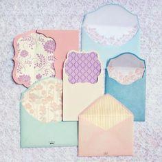 envelopes..