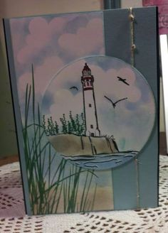 DIM Lighthouse Sympathy by jdmeeks - Cards and Paper Crafts at Splitcoaststampers