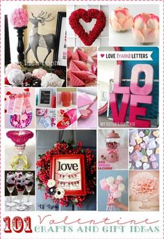 ..101 Valentines Ideas for Decor, Kids, Gifts, Treats, Desserts, Favors, Parties, and More..