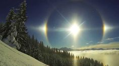 One of the greatest beauties of the winter are Sun Dogs. If you don't know what they are find out at http://www.yellowstoneteton.org/look-for-sun-dogs-during-winter?utm_source=pinterest&utm_medium=pin&utm_campaign=blog-sun-dog  #sundogs #winterinyellowstone #beauty