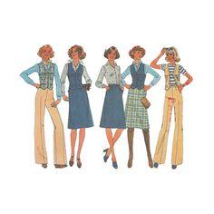Einfachheit 7643 persönliche Fit Muster Damen Weste von Redcurlzs
