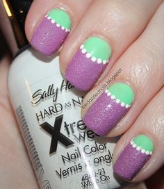 Bedazzled Nails: Textured Polish from Sally Hansen
