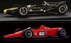 Indy 500 Limited Edition Art Prints. Lotus 34 & Lotus 56. RACER.com