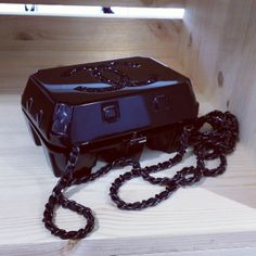 Chanel 'egg box' jewellery case for aw14 (you're welcome)