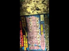 Scratch off ticket finally cracked! This is the real deal! Learn how to crack a scratch off without . Scratch Off Tickets, Lottery Tips, Mo Money, Winning The Lottery, How To Make Money, Coding, Shit Happens, Youtube, Watch