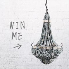 Hey gang only a few days left to WIN this gorgeous creature Click on link in bio to enter #threebirdscomptime @klaylife Three Birds Renovations, Day Left, Third, Creatures, Lights, Instagram Posts, Crafts, Kitchen Ideas, Chandelier
