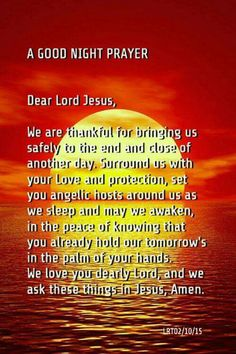 Amen thank you Lord Jesus