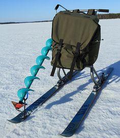 Suksipotkukelkka kulkee myös lumessa | Kalastus.com