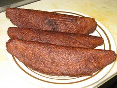Alcapurrias de Puerto Rico (meat-filled plantain fritters)