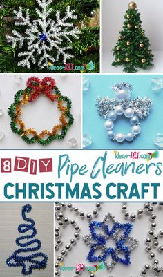 Pipe Cleaners Christmas Crafts — The Best Ideas DIY, Crafts & Decor Projects Pipe Cleaner Christmas Crafts – The Best … Christmas Crafts Pipe Cleaners, Preschool Christmas Crafts, Pipe Cleaner Crafts, Christmas Ornaments To Make, Christmas Activities, Diy Christmas Gifts, Christmas Projects, Kids Christmas, Handmade Christmas