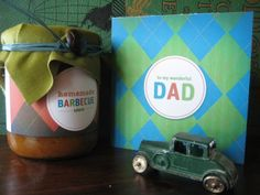 9 Free Printable Father's Day Cards, Favors And More -- via Stylelist Home