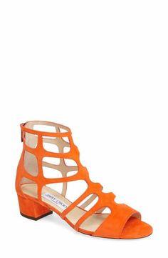 Jimmy Choo Ren Block Heel Sandal (Women)