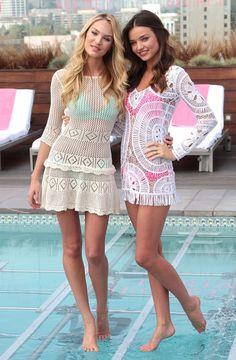 victoria secret swimwear models long dark hair - Google Search