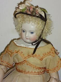 Antique Doll by Huret