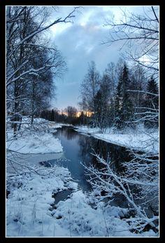 Dawn of a new day, Koylio, Finland