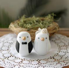 Wedding Cake Topper - Love Birds - Small