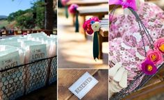 CREPE PAPER AISLE MARKERS