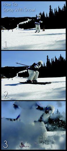 How To: Spray with Snow the SummitCove Yeti