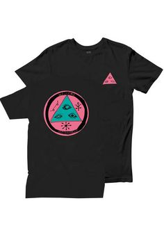 Welcome Talisman Tri-Color T-Shirt black-pink | Titus Onlineshop