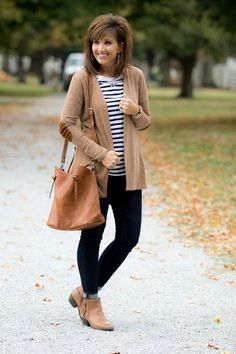 Sweater Cardigan with Elbow Patches