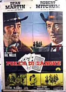 5 Card Stud (1968) During a poker game one player is caught cheating and the others take him out and hang him.  Then the members of the hanging party start to mysteriously be either hanged, strangled or smothered.