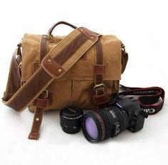 DSLR camera bags messenger shoulder on Etsy, $49.99