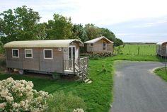 location roitelet - roulotte - Camping Vendée - CAMPING LA DIVE - Côte atlantique
